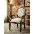 Hokku Designs Bernetta Cotton Arm Chair; Print