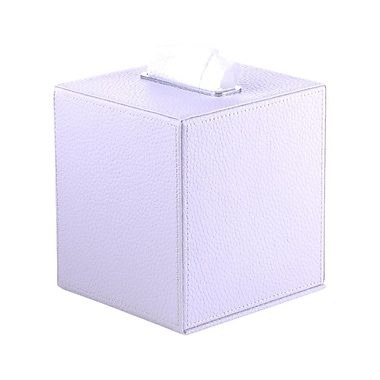 Gedy by Nameeks Vogue Tissue Box Cover; White