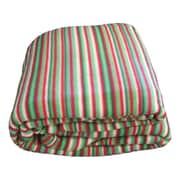 DaDa Bedding Striped Polar Blanket; Full