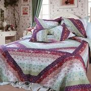 DaDa Bedding Floral Garden Quilt Set; King