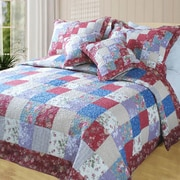 DaDa Bedding Forest 5 Piece Quilt Set; King