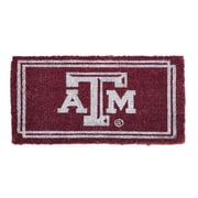 Team Sports America NCAA Texas A&M Welcome Graphic Printed Doormat
