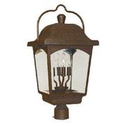 World Imports Lighting Ayrs 4 Light Outdoor Post Lantern
