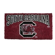 Team Sports America NCAA South Carolina Welcome Graphic Printed Doormat