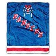 Northwest Co. NHL New York Rangers Super Plush Throw