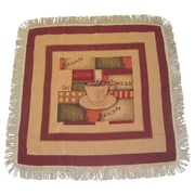 DaDa Bedding Smell of Coffee Woven Tablecloth