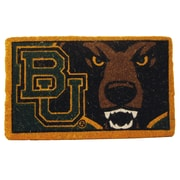 Team Sports America NCAA Baylor Welcome Graphic Printed Doormat