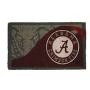 Team Sports America NCAA Alabama Welcome Graphic Printed Doormat