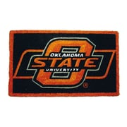 Team Sports America NCAA Oklahoma State Welcome Graphic Printed Doormat