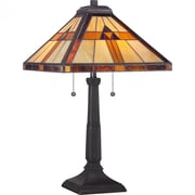 Quoizel TF1427T CFL Table Lamp, Bronze Patina