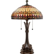 Quoizel TF6660BB Incandescent Table Lamp, Brushed Bullion