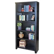 kathy ireland Home by Martin Furniture Tribeca Loft Standard Bookcase; 70'' H x 32'' W x 12.5'' D