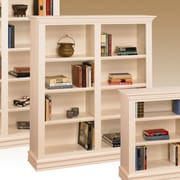 A&E Wood Designs Hampton Standard Bookcase; 48'' H - Four Shelf