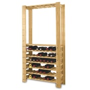 Wine Enthusiast Companies Swedish 54 Bottle Wine Rack