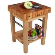 John Boos BoosBlock Butcher Block Prep Table; Included by