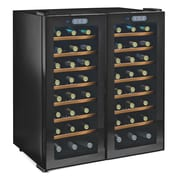 Wine Enthusiast Companies Silent Series 48 Bottle Dual Zone Built-In Wine Refrigerator