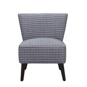 Dorel Living Kinsley Side Chair; Blue / White