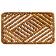 Imports Decor Twisted Overlapping Cross Hatch Doormat; 16'' x 24''