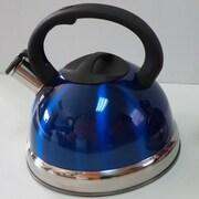 ROYAL COOK 3.17-qt Whistling Tea Kettle; Blue
