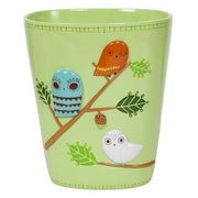 Creative Bath Give a Hoot  Resin Waste Basket