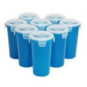 Lock & Lock 17 oz. Storage Tumbler (Set of 8); Blue