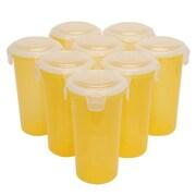Lock & Lock 17 oz. Storage Tumbler (Set of 8); Yellow