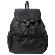 AmeriLeather Jumbo Backpack; Black
