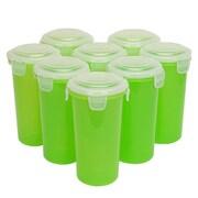 Lock & Lock 17 oz. Storage Tumbler (Set of 8); Lime