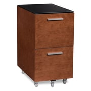 BDI USA Sequel 2-Drawer Mobile Tall  File; Cherry
