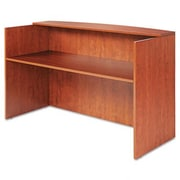 Alera Valencia Series Reception Desk; Cherry