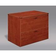 DMi Fairplex 2-Drawer  File Cabinet; Cognac Cherry