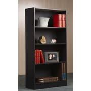 Mylex 47.5'' Shelf Bookcase      ; Black Oak