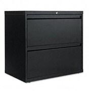 Alera 2-Drawer  File Cabinet; Black