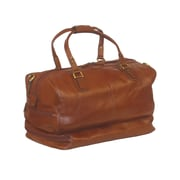 Scully Hidesign Kensington 19'' Travel Duffel; Brown