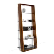 BDI USA Eileen Leaning 74'' Bookcase; Cherry