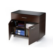 BDI USA Sequel 1-Drawer Storage  File; Chocolate Stained Walnut
