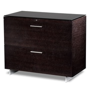 BDI USA 2-Drawer  File; Espresso Stained Oak