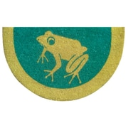 Imports Decor Tufted Frog Doormat; 18'' x 30''
