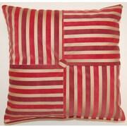 Dakotah Pillow Hillston KE Pieced Button Polyester Throw Pillow (Set of 2)