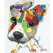 Yosemite Home Decor Revealed Artwork Playful Pooch  Original Painting Wrapped Canvas