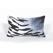 Trans Ocean Visions II School Of Fish Polyester Lumbar Pillow; Blue