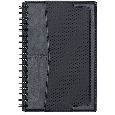 Cambridge® City Vinyl Notebook, 9-3/4