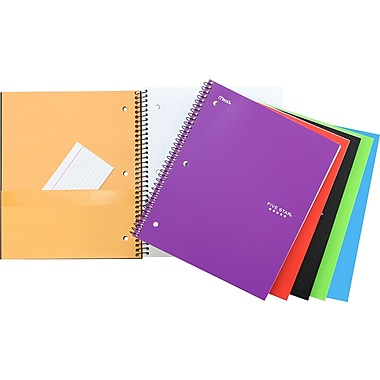 Five-Star Notebook, Heavyweight Paper, 1-subject, 11
