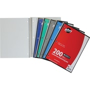 "Hilroy Notebook, Quad 4:1, 10-1/2"" x 8"", Assorted, 200 Pages"