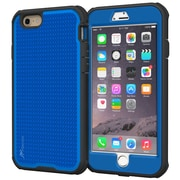"rOOCASE Versa Tough Case Cover with Built-in Screen Protector for 5.5"" iPhone 6 Plus, Palatinate Blue (RC-IPH6-5.5-VT-BL)"