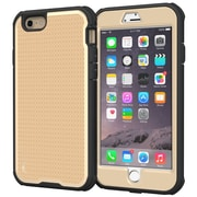 "rOOCASE Versa Tough Case Cover W/Built-in Screen Protector for 5.5"" iPhone 6 Plus, Champagne Gold (RC-IPH6-5.5-VT-CG)"