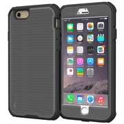 "rOOCASE Versa Tough Case Cover with Built-in Screen Protector for 5.5"" iPhone 6 Plus Space Gray (RC-IPH6-5.5-VT-SG)"