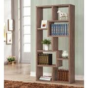 Wildon Home   70.5'' Bookcase; Brown