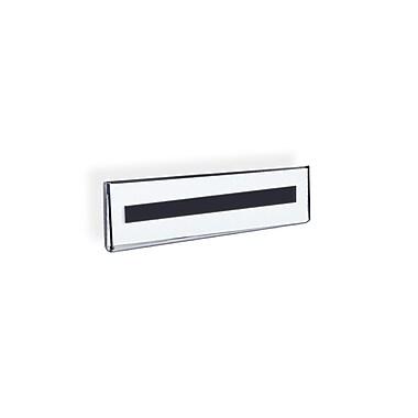 Azar Displays Nameplate Sign Holder, 10/Pack