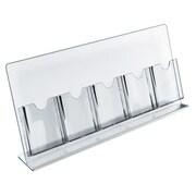 Azar Displays Counter Brochure Holders, 5 Tri-fold Pockets (222979)